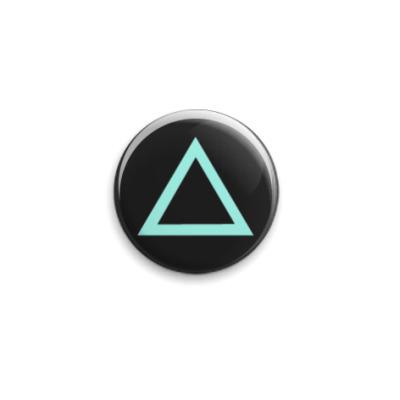 Значок 25мм Dualshock Triangle