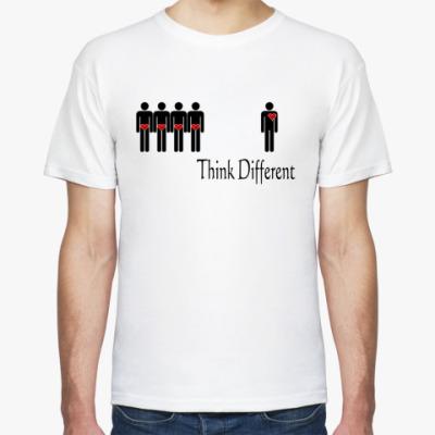 Футболка  Think Different