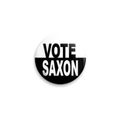Значок 25мм Vote Saxon