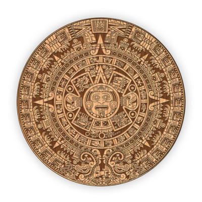 Костер (подставка под кружку) Календарь майя