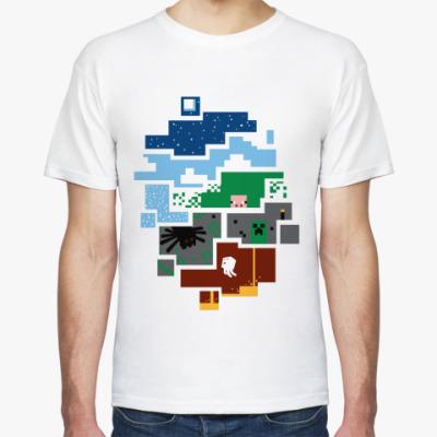 Футболка 'World of Minecraft'