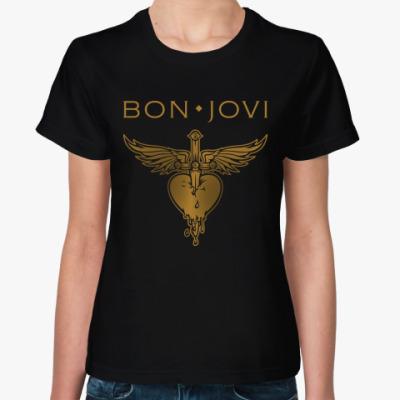 Женская футболка Bon Jovi