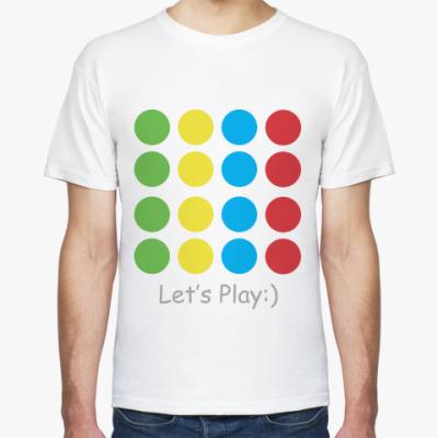 Футболка Let's Play Twister!