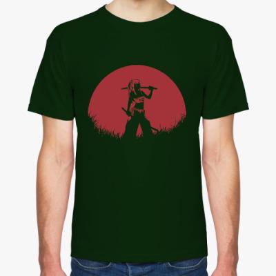 Футболка Аниме самурай