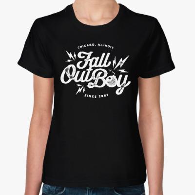 Женская футболка Fall Out Boy