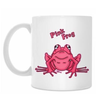Кружка PInk Frog