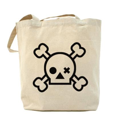 Сумка Skull Холщовая сумка
