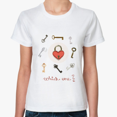 Классическая футболка Keys