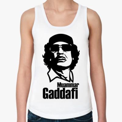 Женская майка  Каддафи