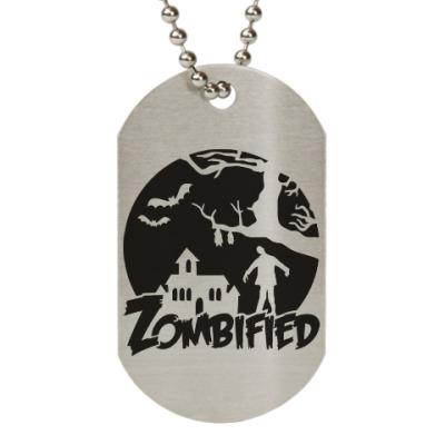Жетон dog-tag Зомбификация