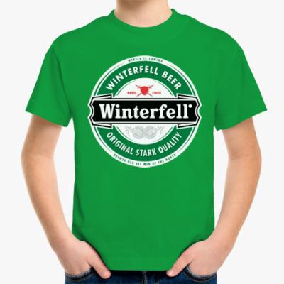 Детская футболка Winterfell
