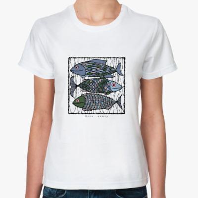 Классическая футболка Секи фишку