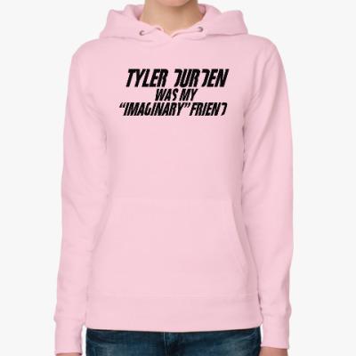 Женская толстовка худи Fight Club Tyler Durden
