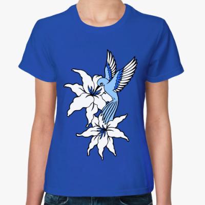 Женская футболка Калибри