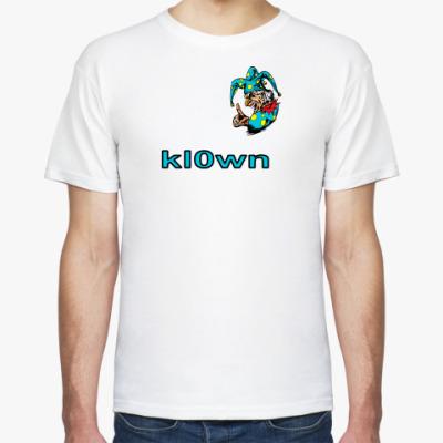 Футболка kl0wn