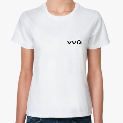 Классическая футболка Надпись