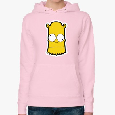 Женская толстовка худи Crazy Bart