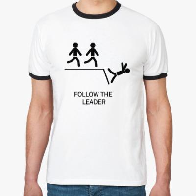 Футболка Ringer-T Follow the leader