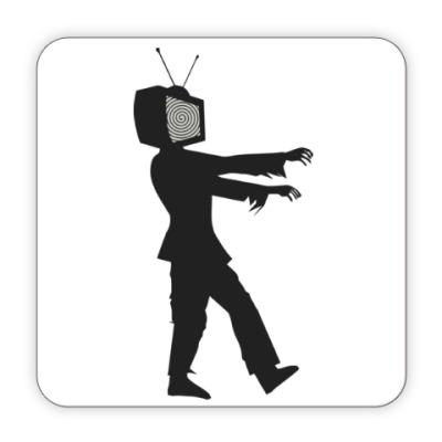 Костер (подставка под кружку) Зомби ТВ