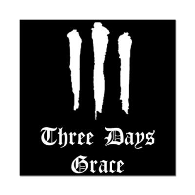 Наклейка (стикер) Three Days Grace