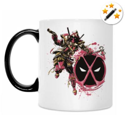Кружка-хамелеон Deadpool Assassin