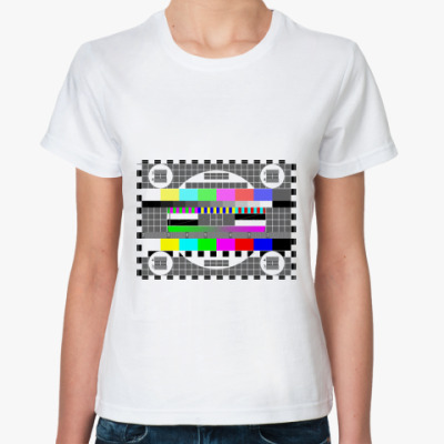 Классическая футболка Пауза