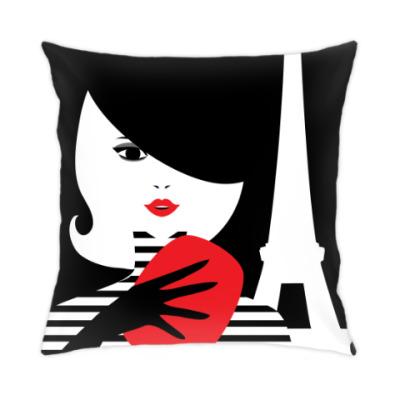 Подушка Француженка, фэшн иллюстрация