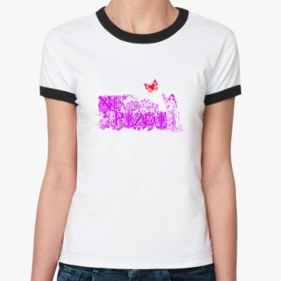 Женская футболка Ringer-T Ne pizdi