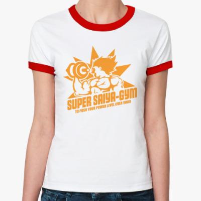 Женская футболка Ringer-T Saiya gym