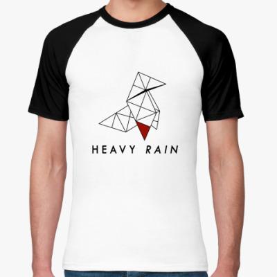 Футболка реглан Heavy Rain