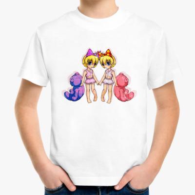 Детская футболка Чибик с  мишкой