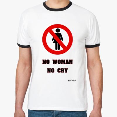 Футболка Ringer-T No Woman