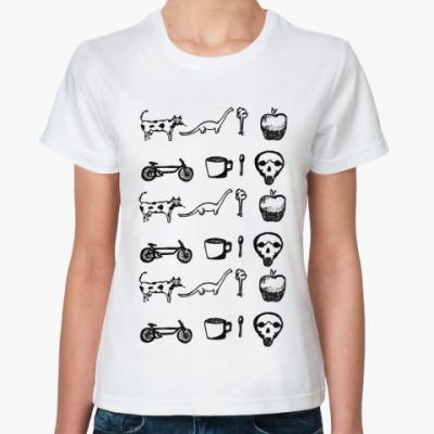 Классическая футболка SKETCH