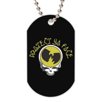 Жетон dog-tag Protect Ya Face