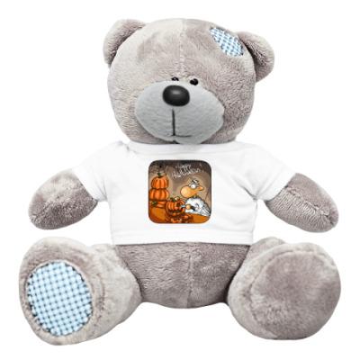 Плюшевый мишка Тедди хэллоуин