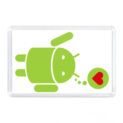Магнит Love Android