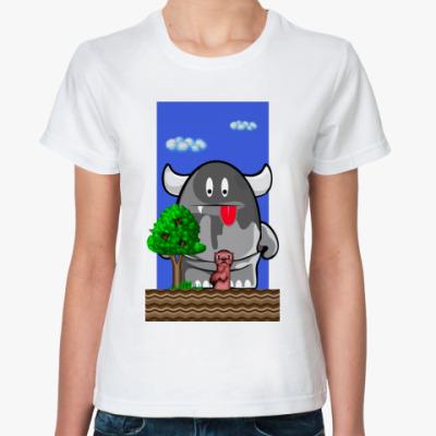 Классическая футболка Суслику Капут