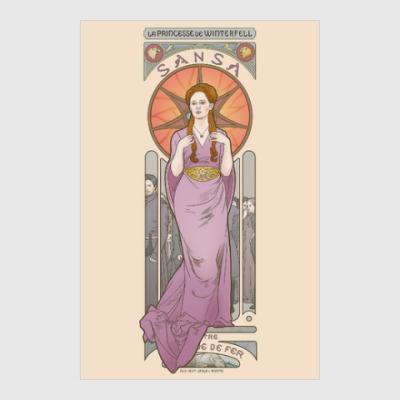 Постер Sansa Stark