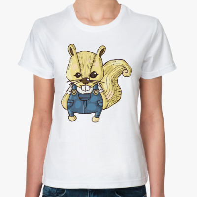 Классическая футболка Белка