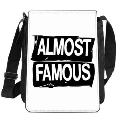 Сумка-планшет Надпись ALMOST FAMOUS