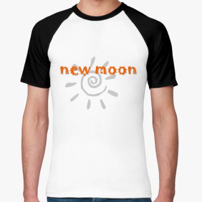 Футболка реглан new moon