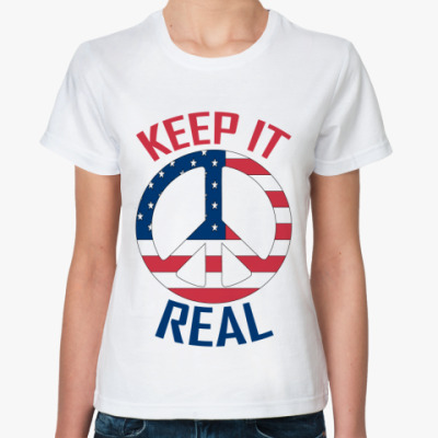 Классическая футболка Keep it Real