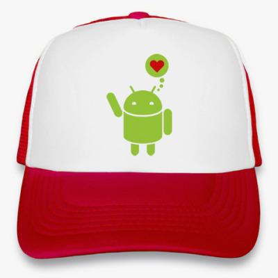 Кепка-тракер Love Android