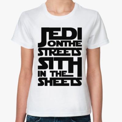 Классическая футболка Джедаи и Ситхи (Звездные Войны)