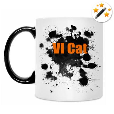 Кружка-хамелеон Very Important Cat
