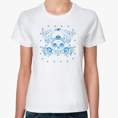 Классическая футболка гжель