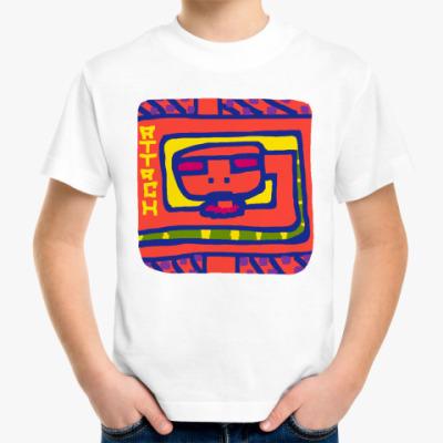 Детская футболка Attach