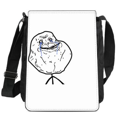 Сумка-планшет Forever alone
