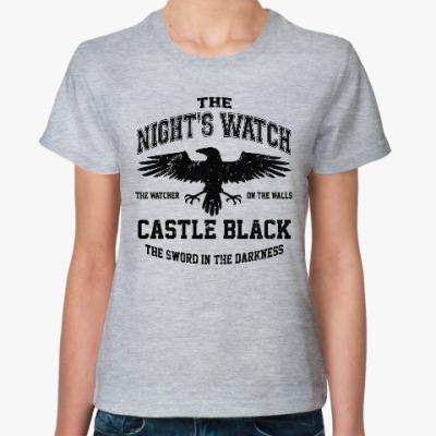 Женская футболка Игра престолов.Ночной дозор