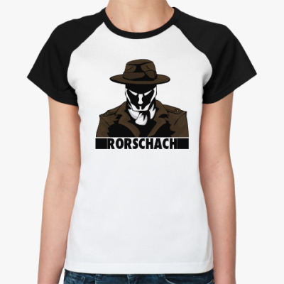 Женская футболка реглан Rorschach